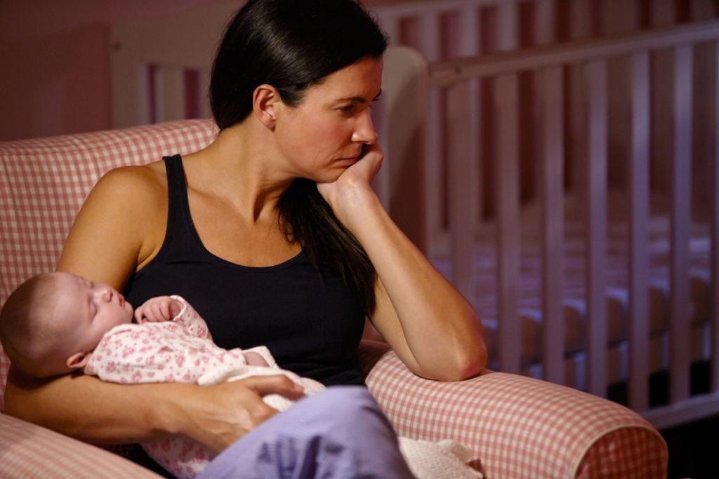 Майка, тревога, следродилна депресия
