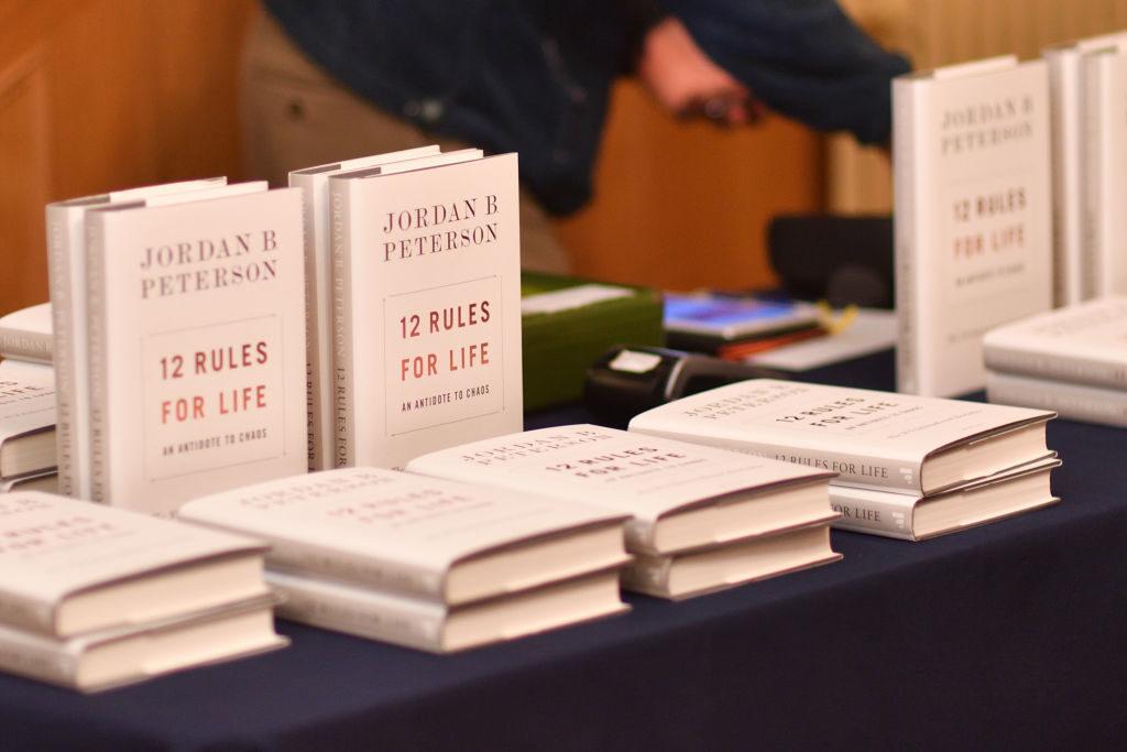 """Книгата на Джордан Питърсън """"12 правила на живота"""""""