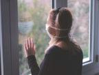 жена, маска, изолация, коронавирус