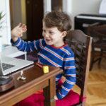 онлайн образование, дете, компютър