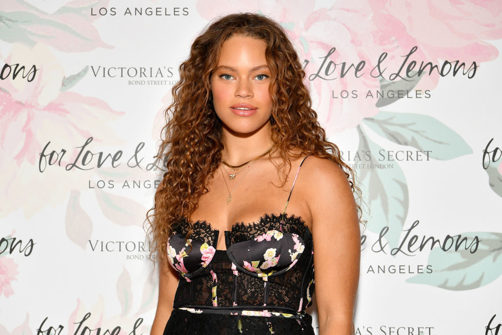 NEW YORK, NEW YORK - SEPTEMBER 19: Solange Van Doorn joins Victoria's Secret and For Love & Lemons to celebrate their lingerie collaboration on September 19, 2019 in New York City. (Photo by Dia Dipasupil/Getty Images for Victoria's Secret)