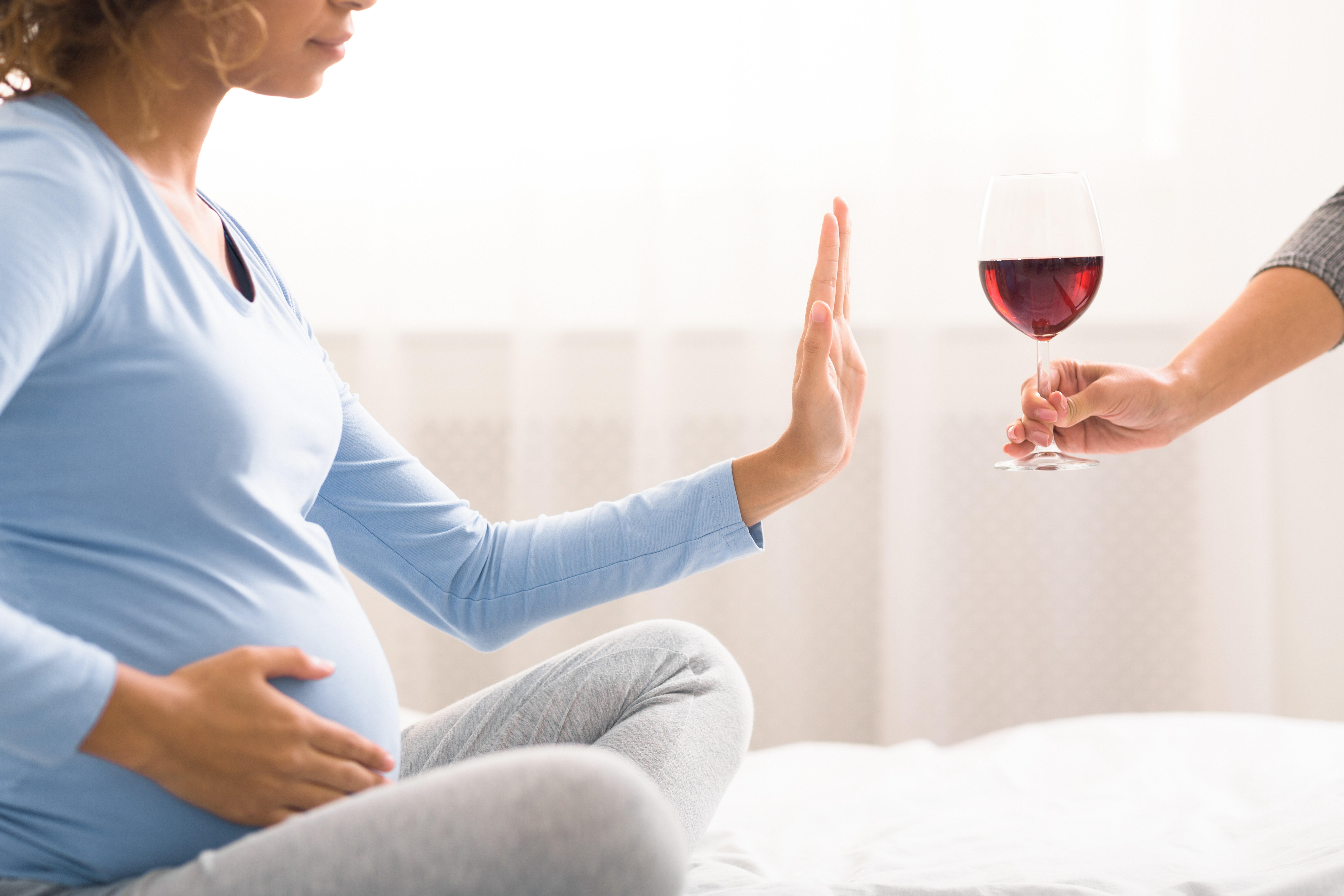 бременност, алкохол