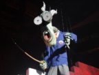ATLANTA, GA - JUNE 13:  The Schoolmaster performs during Roger Waters' The Wall concert at Philips Arena on June 13, 2012 in Atlanta, Georgia.  (Photo by Chris McKay/WireImage)